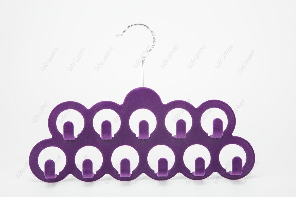 Multifunctional Popular Velvet Tie Hanger