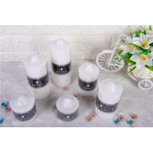 Smooth Surface Pillar Decoration Candles