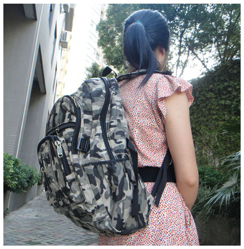 Versatile Camouflage Backpacks