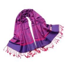 Meilleur modèle Paisley pattern Jaquard Stole Long Hijab Wrap Ladies Tippet