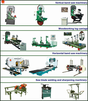 band sawmills blade sharper grinder welder machine