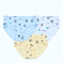 Jeunes enfants sous vêtement pour garçons 10-15 ans Vêtements d'enfants Sous-vêtements Sous-vêtements imprimés en balle de football