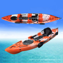 Hot 4.2m Extreme Single Sit on Top Fishing Kayak Boat with Rudder System (M07-1)