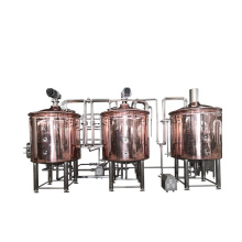 Brew pub hotel mini red copper tank used brewery equipment for sale