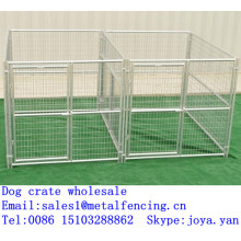 Galvanized animal crate large dog crate outdoor dog crate metal dog crate wholesale