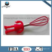 Heißes Verkaufs-Silikon-Ei-Werkzeug mit menschlichem Form-Handgriff Se04