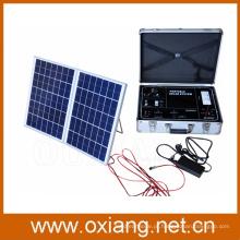 Energia solar portátil solar do gerador do sistema de iluminação da casa de Multifunciton