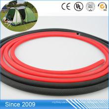 Étanche et facile à la corde ronde en plastique enduite de PVC de laisse