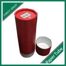 Tubes de distribution de tubes en papier Round Paper Postal