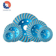 Well - Balanced Small 100mm Turbo Diamond Grinding Wheels For Stone and concrete