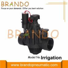 1'' 2'' Irrigation Latching Plastic Solenoid Valve 24V