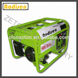2kw 6.5hp gasoline engine air cooled portable power house generator