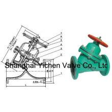 Выровнянный резиной Тип Y Клапан (YG41)
