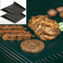 LFGB Centigrade black BBQ Baking grill mat