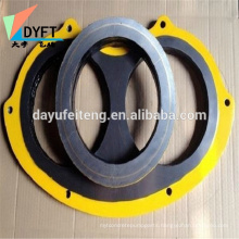 China concrete pump wear plate & wear ring for zommline