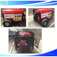 Generador de gasolina de salida monofásica de CA 168F-1 con CE