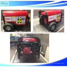 Gerador de gasolina de saída monofásica de corrente alternada 168F-1 com CE