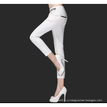 Горячие продажи Длинные Стиль моды повседневные брюки для леди