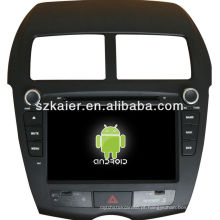 dvd do carro para Android sistema Mitsubishi ASX
