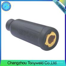 Conector de tochas de soldagem 70-95mm2 para torch tig