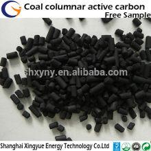 Carbono ativado esférico profissional a base de carvão para material de tratamento de água
