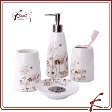 hot selling set four ceramic bathroom accessories