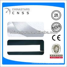 EN ISO 20471: 2013 EN471 tela elástica de un lado para la chaqueta