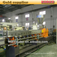 Double screw Filler/color masterbatch extruder line