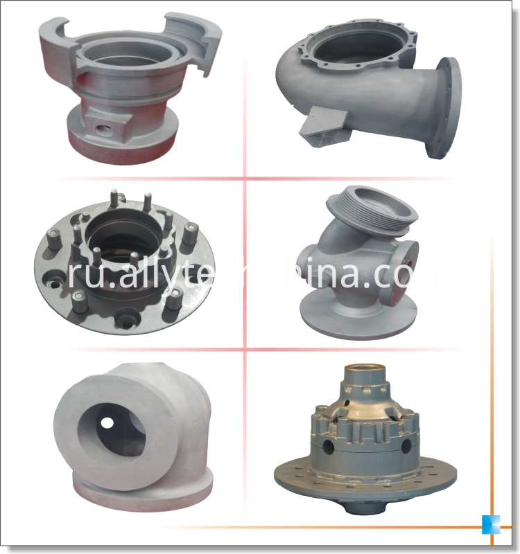 cnc machining die casting parts