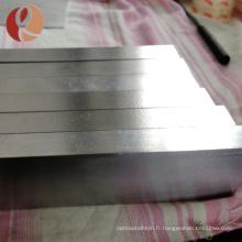Bloc de titane coupé GR5 Ti6Al4V de fil d'EDM de fil