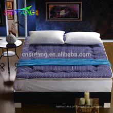 Hotel Linho / Super macio hotel home acolchoado protetor de colchão terry