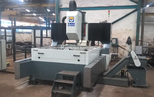 machine in Indonesia factory