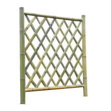 Bamboo Style Stainless Steel Artificial Bamboo Fence for Decoration