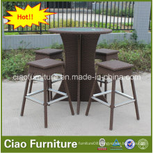 Outdoor Balcony Furniture Rattan Bar Furniture Dubai