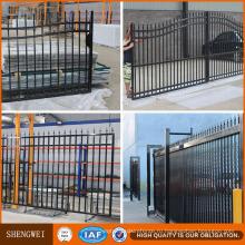Безопасности стальной трубчатый ограждать сада и ворота