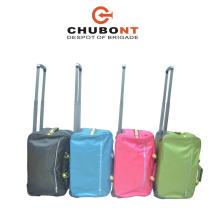 Chubont Fashion Black Duffel Trave Large Trolley Tote Bags