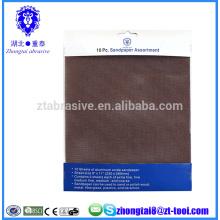 corte de tela de lixamento abrasivo de carboneto de silício