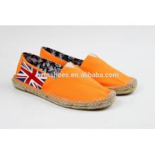 Herren billige Segeltuchschuhe, beiläufige Schuhe, Espadrille Schuhe mit Jutesohle