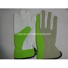Garden Glove-Pig Leather Glove-Safety Glove-Weight Lifting Glove