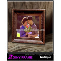 2016 Wall hanging wooden retro photo frame