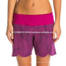 Women hot fit custom made exercise short for gym and yoga