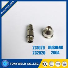 231020/232020 Jiusheng 200A eléctrodo de arrefecimento de água