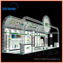 6 * 9 Custom portable Messestand Design, Aluminium Fachwerk Messestand