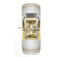 Mirror Sightseeing Elevator Panoramische Beobachtungslift mit hoher Effizienz und Sicherheit