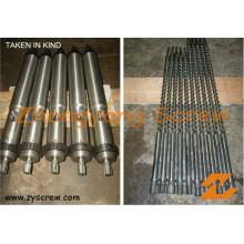 Schraube Barrel für Spritzgussmaschine Schraube Barrel / Maschinenschraube