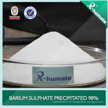 Polvo fino de sulfato de bario precipitado superfino