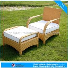 Powder Coating Garden Patio Outdoor Rattan Chair