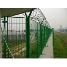 Hot Dipped Galvanized Airport Wire Mesh Fence