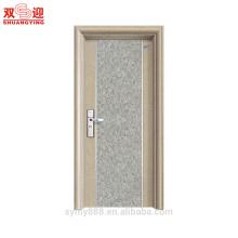 Puerta de acero de la entrada principal puerta de acero de diseño de puerta de acero precio bajo