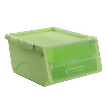 Flip-on Haushalt Lagerung Plastik Aufbewahrungsbox (SLSN033)